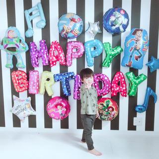 トイストーリーの誕生日バルーンセット♡文字カラー変更可♡送料無料(キャラクターグッズ)