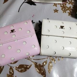クレージュ(Courreges)のcourreges 二つ折り財布(財布)