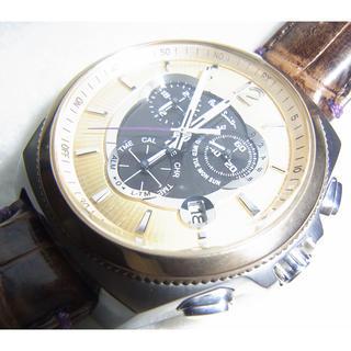ポールスミス(Paul Smith)のポールスミス ファイナルアイズ 電波ソーラー クロノグラフ デイト 綺麗(腕時計(アナログ))