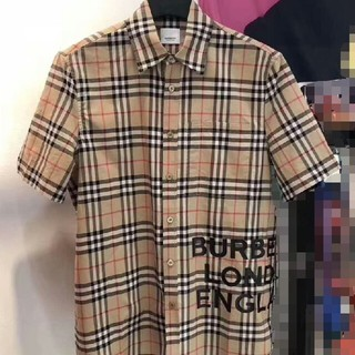 BURBERRY - burberryバーバリー 人気新品 カッコいい メンズ シャツ