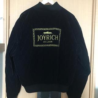 JOYRICH - 【 ジョイリッチ JOYRICH 】ベロアキルティングブルゾン