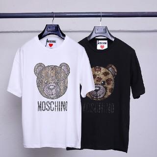 モスキーノ(MOSCHINO)のMOSCHINO Tシャツ 2枚セット 男女兼用(Tシャツ/カットソー(半袖/袖なし))
