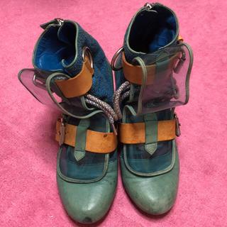 ヴィヴィアンウエストウッド(Vivienne Westwood)のヴィヴィアン  レアブーツ(ブーツ)