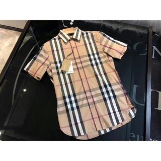 BURBERRY - Burberry  シャツ   メンズ  半袖  かっこい   夏おしゃれ