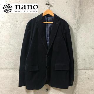ナノユニバース(nano・universe)の【NANO UNIVERSE】コーデュロイ素材 2Bテーラードジャケット(テーラードジャケット)