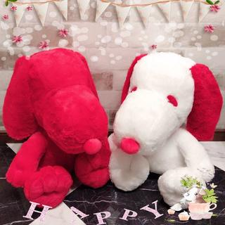 SNOOPY - 【新品】REDスヌーピー おおきなぬいぐるみ〈全2種〉セット(希少品・非売品)
