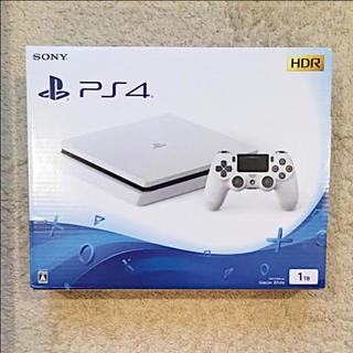 PlayStation4 - PlayStation®4 グレイシャー・ホワイト 1TB コントローラ付き