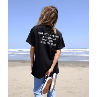 ALEXIA STAM - ALEXIA STAM  フラッグドットコムTシャツ