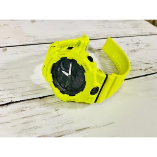 ジーショック(G-SHOCK)の【G-SHOCK 】GBA-800- Gショック ブラック×イエロー(腕時計(デジタル))