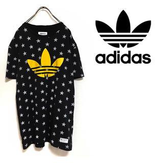 adidas - adidas アディダスオリジナルス ビッグロゴ  トレフォイルロゴ  星 半袖