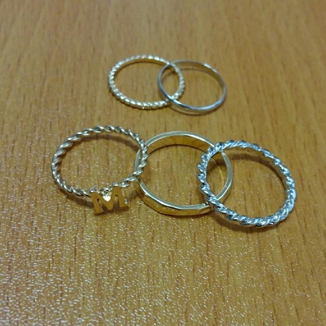 リングセット🍀 レディースのアクセサリー(リング(指輪))の商品写真