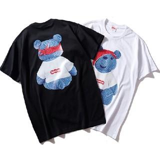 Supreme - Tシャツ 男女兼用 黒
