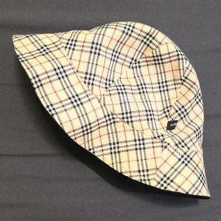 BURBERRY - 【美品】バーバリー リバーシブル 帽子 49㎝