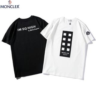 MONCLER - 「2枚6400円送料無料」 おしゃれ ロゴ  人気  プリント 日常用 Tシャツ