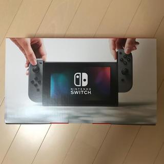 ニンテンドースイッチ(Nintendo Switch)のニンテンドースイッチ グレー 新品(携帯用ゲーム本体)