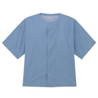 ムジルシリョウヒン(MUJI (無印良品))のmuji labo インディゴドロップショルダーシャツ(シャツ)