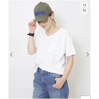 DEUXIEME CLASSE - SKARGORN ポケツキワイドTシャツ ホワイト 未開封新品タグ付き