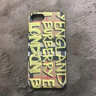 バーバリー(BURBERRY)の最終値下げ バーバリー iPhoneケース iPhone7 iPhone8(iPhoneケース)