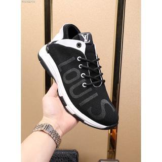 LOUIS VUITTON - LouisVuittonカジュアルシューズ運動靴ブラック サイズ27cm