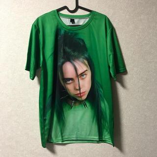 billie eilish Tシャツ グリーン