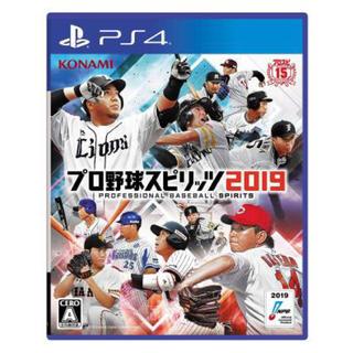 KONAMI - PS4 プロ野球スピリッツ2019 プロスピ2019 通常盤 新品 未開封