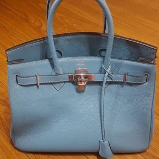 Hermes - ブルージーンバーキン風35ハンドバッグ