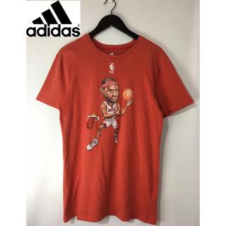 アディダス(adidas)のadidas アディダス NBAマイアミヒート レブロンジェームズ半袖TシャツL(Tシャツ/カットソー(半袖/袖なし))