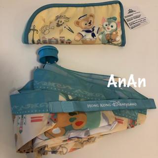 Disney - 香港ディズニーランド☆ダッフィー&ジェラトーニ☆晴雨兼用折り畳み傘