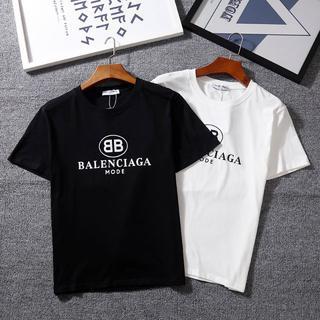 Balenciaga - [2枚5000円送料込み]Balenciaga Tシャツ 半袖 男女兼用