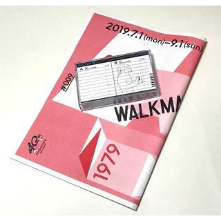 ソニー(SONY)のSONYウォークマン40周年「カセットケース入特製ブックレット」スズキハルカ(ノベルティグッズ)