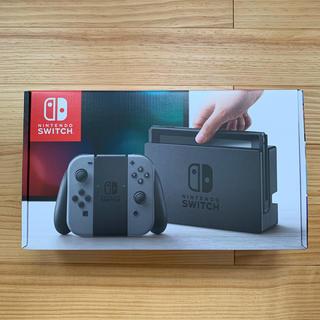 Nintendo Switch - 【新品最安値】ニンテンドースイッチ 本体 新品未開封  Joy-Con グレー