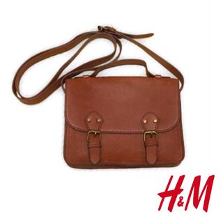 H&M - ミニショルダーバック ポシェット ブラウン