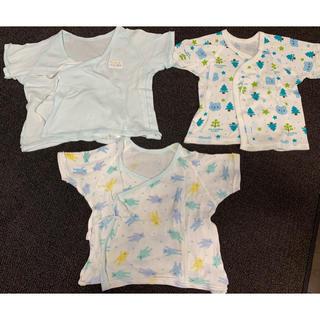西松屋 - 新生児 肌着 3枚セット 西松屋