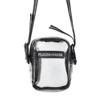 オフホワイト(OFF-WHITE)のPLACES+FACES / PVC Side Bag / クリア(ショルダーバッグ)