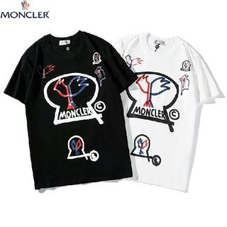MONCLER - 夏 Tシャツ 黒白セット 可愛い 半袖