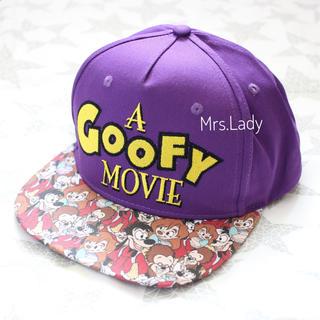 Disney - 海外ディズニー マックス 総柄キャップ cakeworthy グーフィームービー