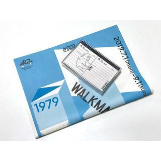 ソニー(SONY)のSONYウォークマン40周年「カセットケース入特製ブックレット」JUN OSON(ノベルティグッズ)