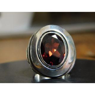 エムズコレクション(M's collection)のエムズコレクション ガーネット リング 7号 アクセサリー シルバー(リング(指輪))