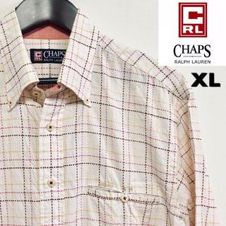 ラルフローレン(Ralph Lauren)のCHAPS Ralph Lauren☆チェックシャツ☆XLサイズ☆(シャツ)