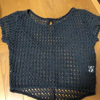 ワンウェイ(one*way)のoneway サマーニットグレー(Tシャツ/カットソー(半袖/袖なし))