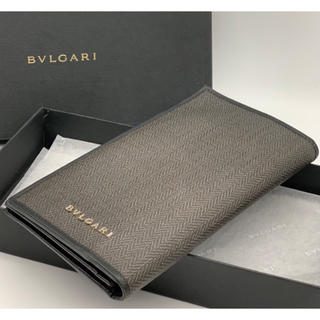 BVLGARI - BVLGARIブルガリ ウィークエンド PVCレザー 折り長財布