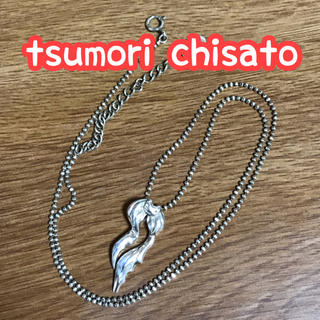 ツモリチサト(TSUMORI CHISATO)のツモリチサト ねこのネックレス SV925(ネックレス)
