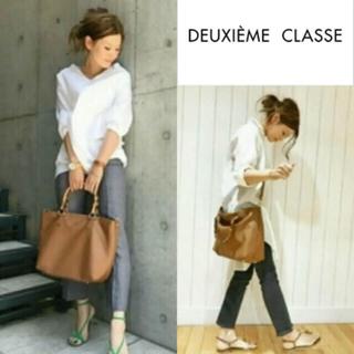 ドゥーズィエムクラス(DEUXIEME CLASSE)のバンブーハンドル2wayバッグ(トートバッグ)