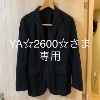 UNIQLO - 黒 ジャケットMサイズ 夏用 ユニクロ