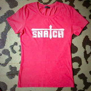 スナッチ(Snatch)のsnatch♡Tシャツ♡超美品♡F(Tシャツ(半袖/袖なし))
