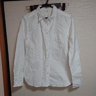 ムジルシリョウヒン(MUJI (無印良品))の白シャツ(シャツ/ブラウス(長袖/七分))
