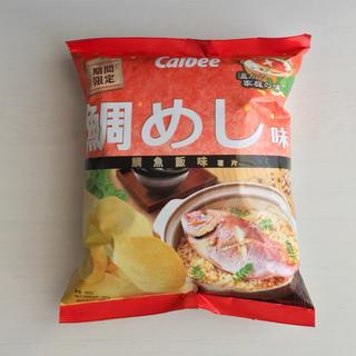カルビー(カルビー)のHongKong Calbee 鯛めし味 ポテトチップス 1袋(菓子/デザート)