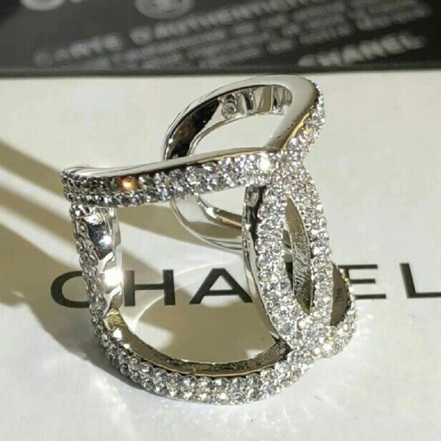 CHANEL(シャネル)の正規品 シャネル 指輪 レディースのアクセサリー(リング(指輪))の商品写真