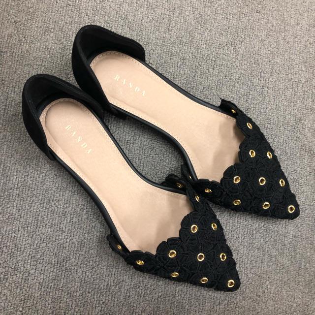 RANDA(ランダ)のRANDA フラットシューズ  レディースの靴/シューズ(ハイヒール/パンプス)の商品写真