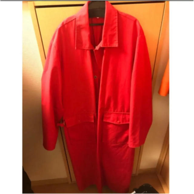 RAF SIMONS(ラフシモンズ)の売り切り sullen購入 オーバーサイズ コート メンズのジャケット/アウター(ステンカラーコート)の商品写真